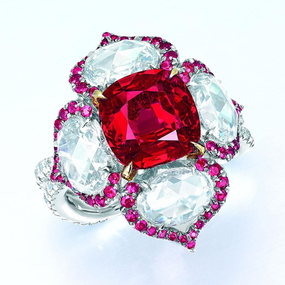 A 5 01 Carat Burmese Ruby Ring In The Christie S Hong Kong Jewelry Auction Jewels Rings Dream Jewelry Jewelry