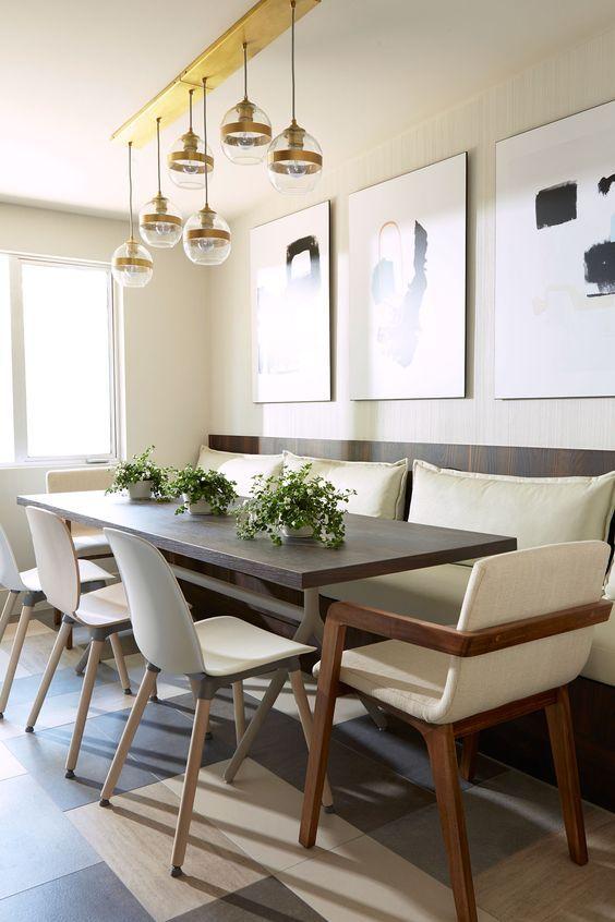 conception de salle manger understated luxury in los angeles rue