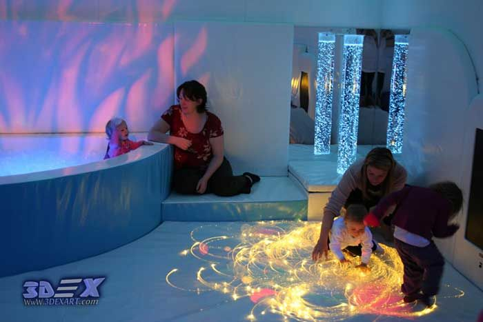 Interactive Floor Systems Technology For Kids And How It