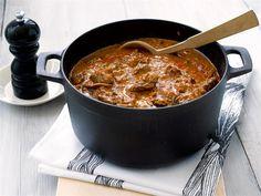 Pippurinen lihapata: Yhdellä pippurijuustolla, ekstravihanneksilla + kermalla ja tuunatuilla mausteilla