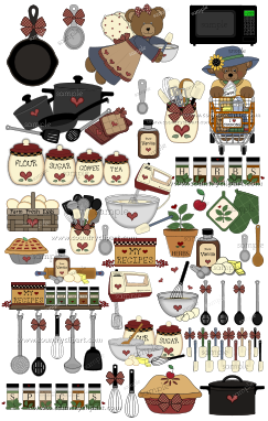 Cooking Kitchen Baking Club Clipart Sample 2