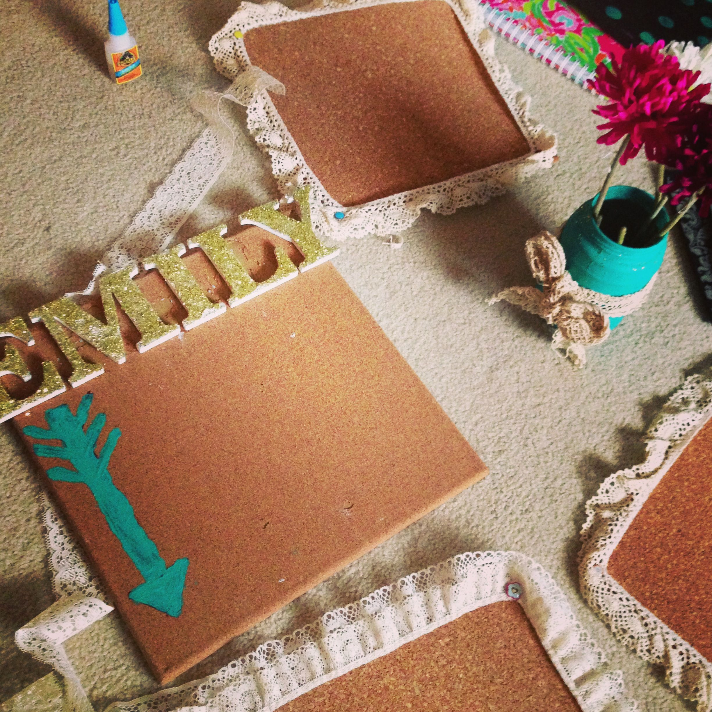 DIY cork board   AXO   Pinterest
