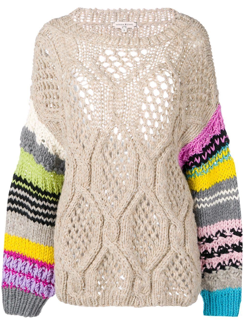 2dba8bf27fe Natasha Zinko chunky knit jumper - Neutrals   Products in 2019 ...