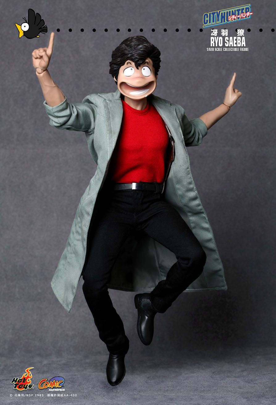 City Hunter Ryo Saeba By Hot Toys That Face Is Priceless
