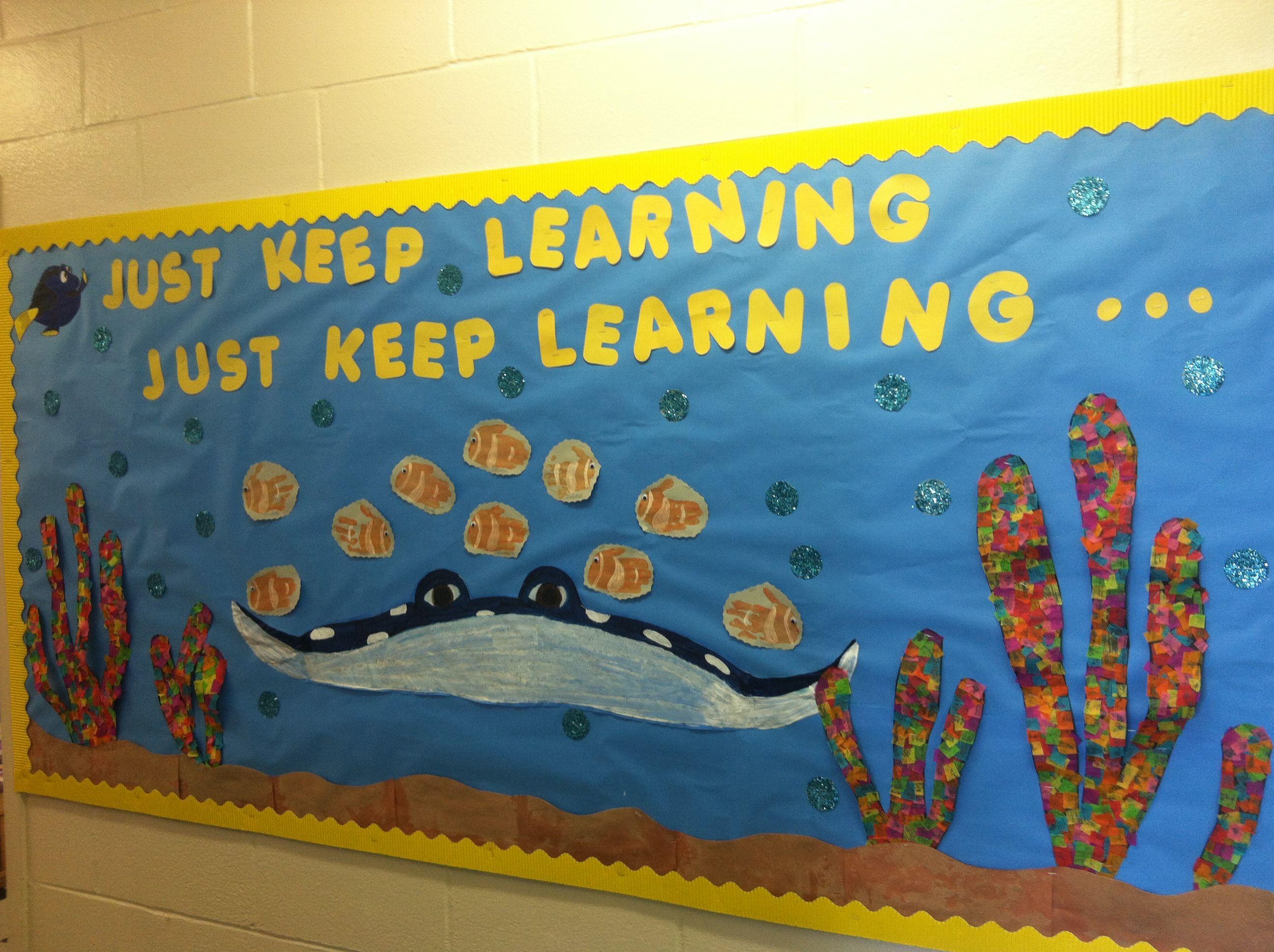 Beginning Of The School Year Bulletin Board Nemo Theme