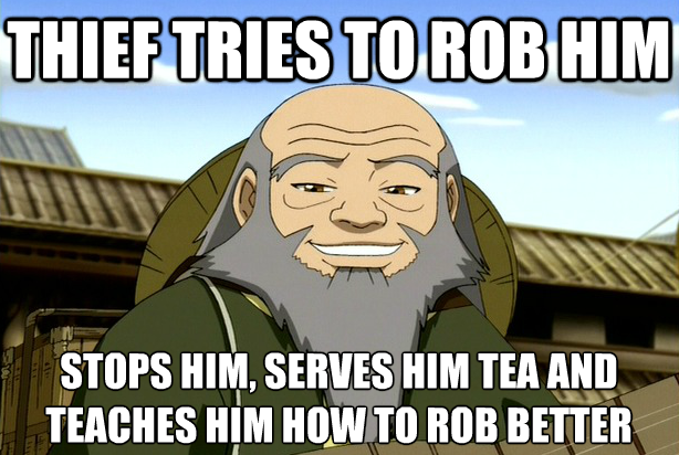 Hes so great :) 2nd favorite character behind Toph.