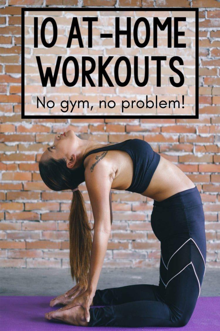 You can get a great workout without leaving the house! Check out this collection of the best at-home...