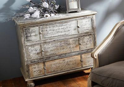 Decoración Con Papel De Periódico Reciclamos Ideas De Muebles Pintados Decoración Con Papel Decoración De Unas