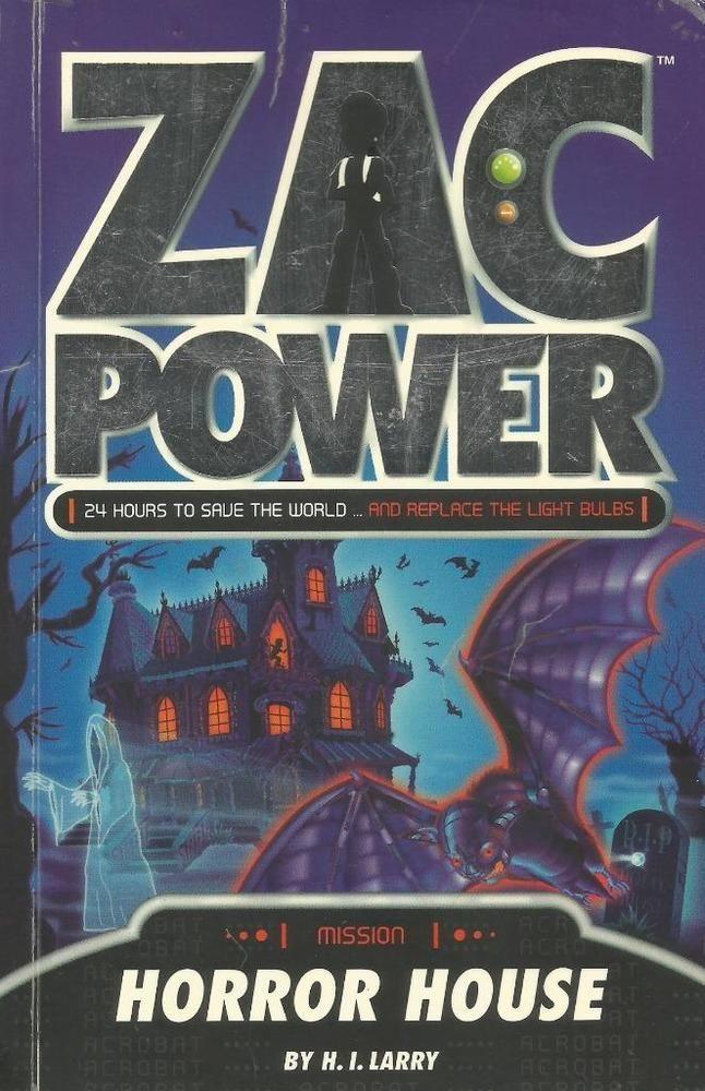 Zac Power: Horror House (Zac Power Missions)