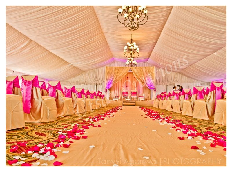 Indian Wedding Decor Pink And Gold Weddings That Wow