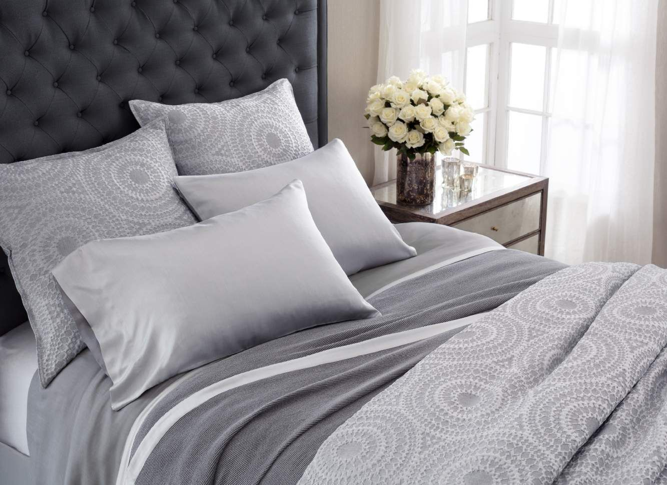 Annie Selke Luxe Chinois Bedding Luxury bedding, Bed
