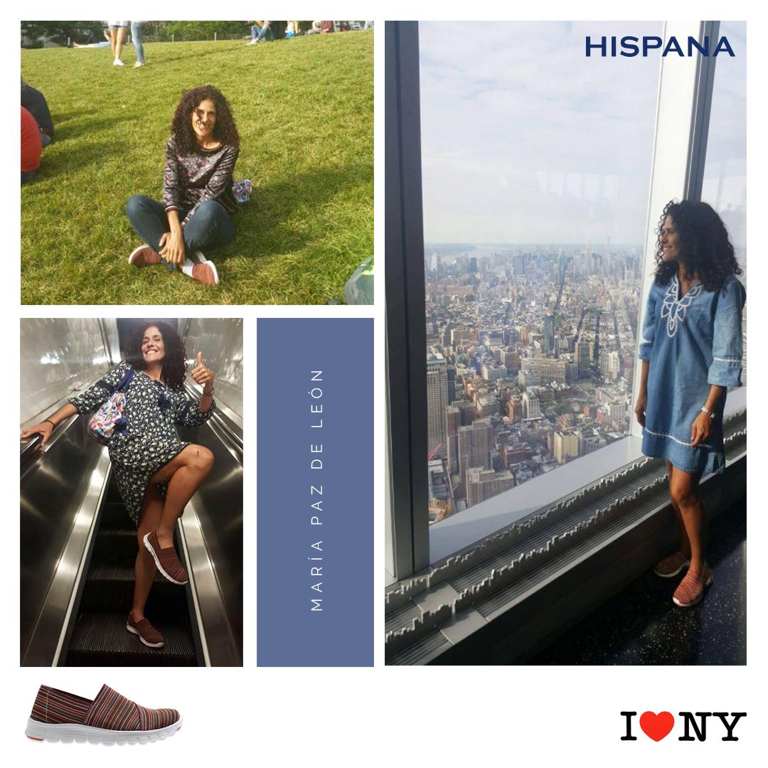 Para viajar tenemos los zapatos más cómodos, New York 2017