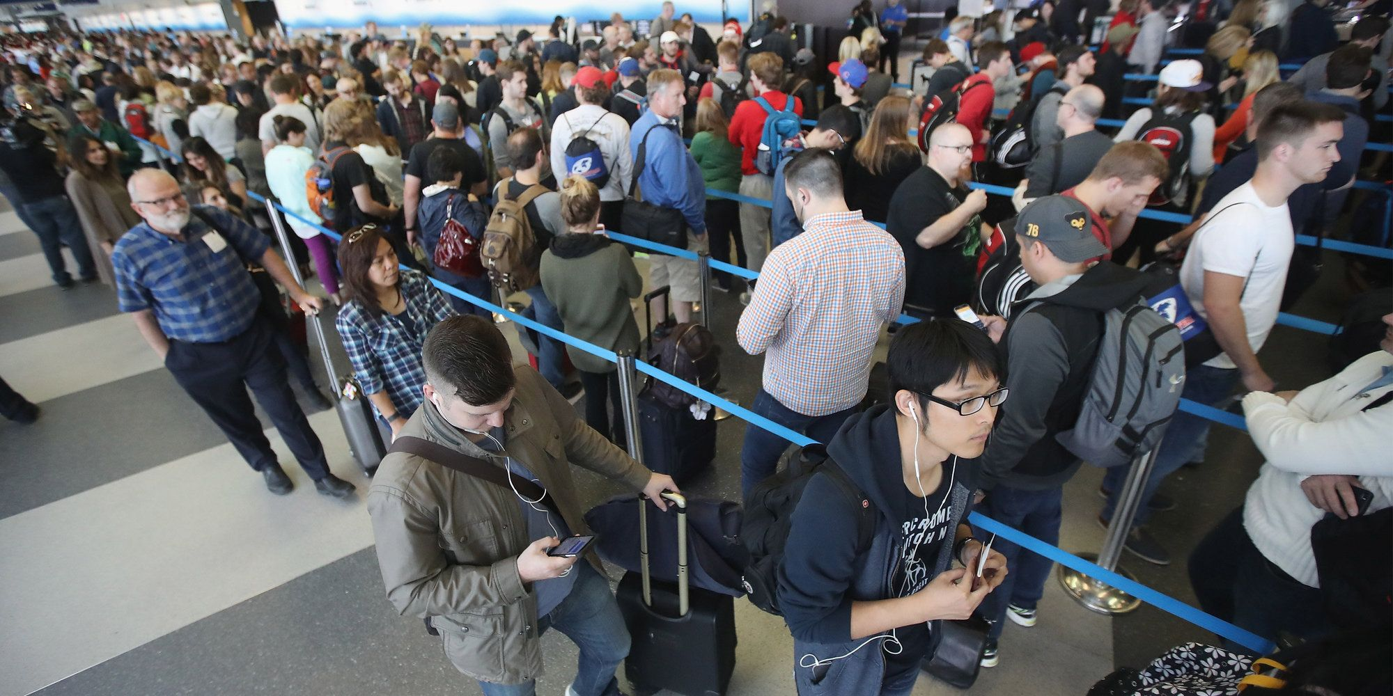 5 Airports Where Security Lines Are Shortest (And 5 Where They're Way Too Long)