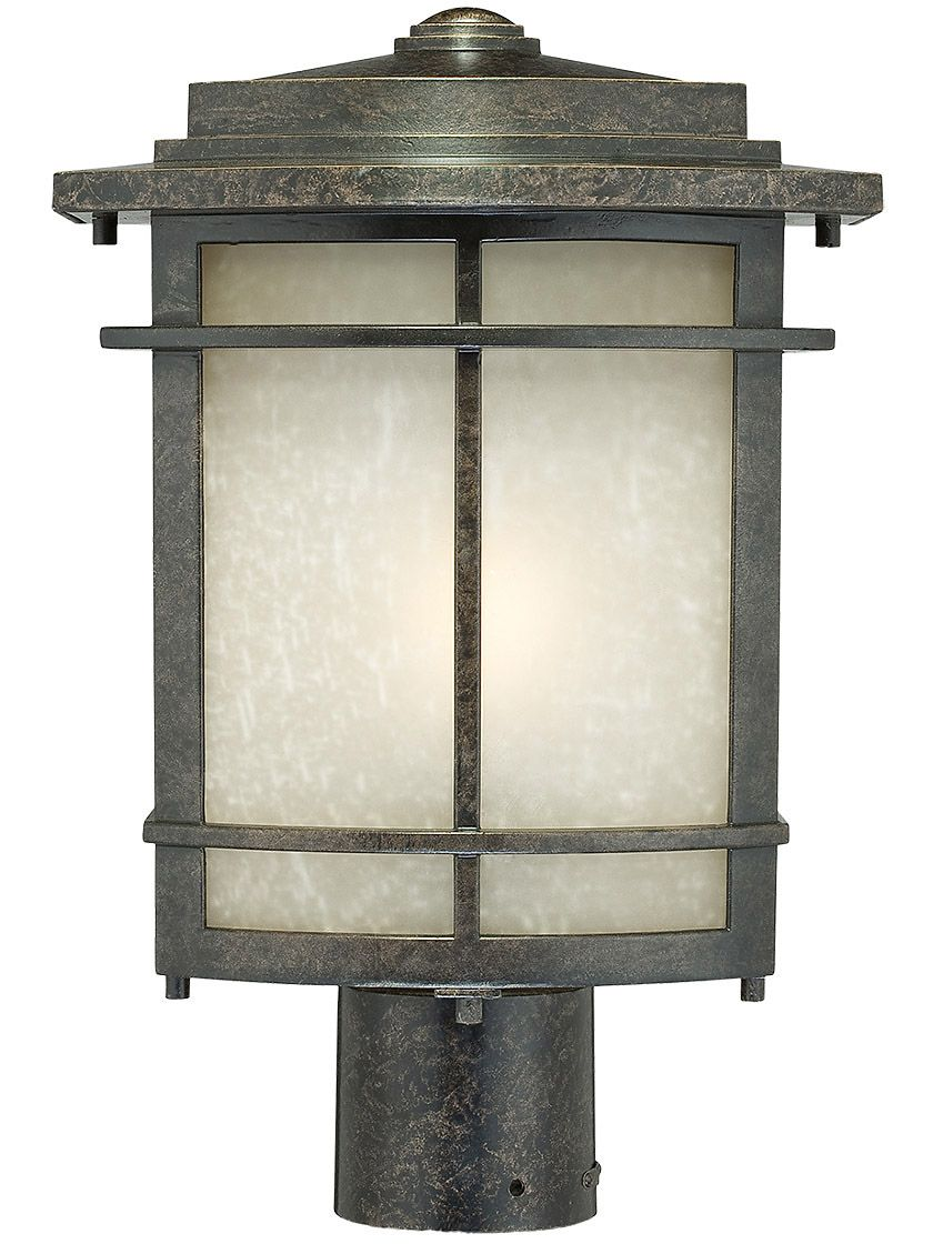 Galen Outdoor Post Light In Imperial Bronze House Of