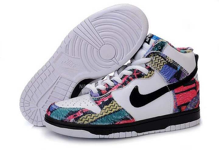 Colorful Nike High Tops | NIKE DUNK sb classic high-top shoes colorful  313171-