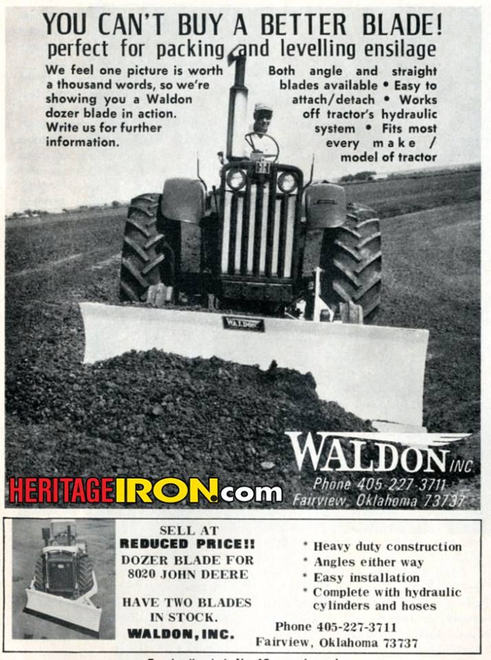 Waldon dozer blade - You can't buy a better blade! (Big