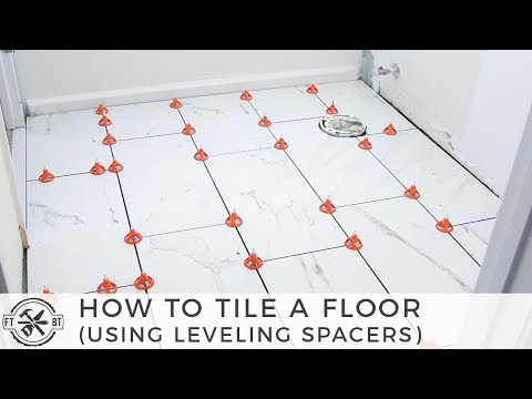 How To Tile A Small Bathroom Floor Diy Bath Remodel Youtube In