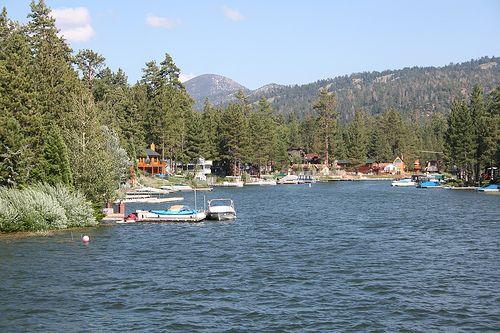 Big Bear Lake. Clean air and fireworks. <3