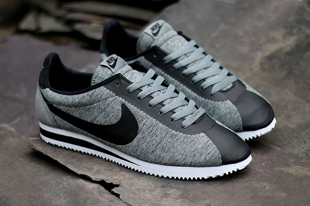 Nike Cortez Tech Fleece A Perfect Marriage Of The Classic Silhouette And 21st Century Tech Sneakers Nike Cortez Nike Free Shoes