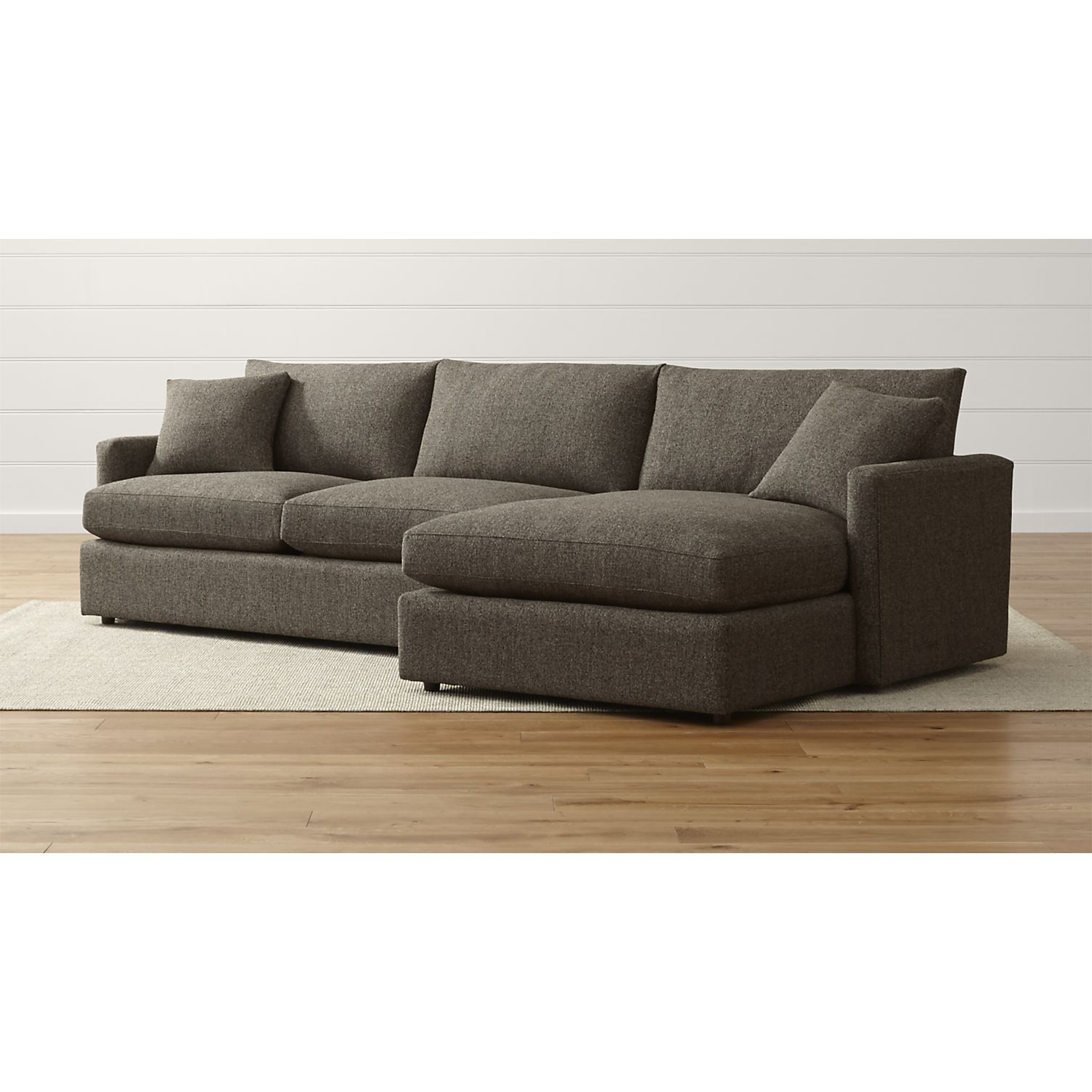 Lounge II Petite 2 Piece Sectional Sofa