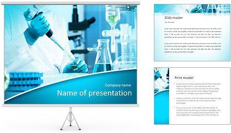 Expertos Analizan En El Laboratorio Plantillas De Presentaciones