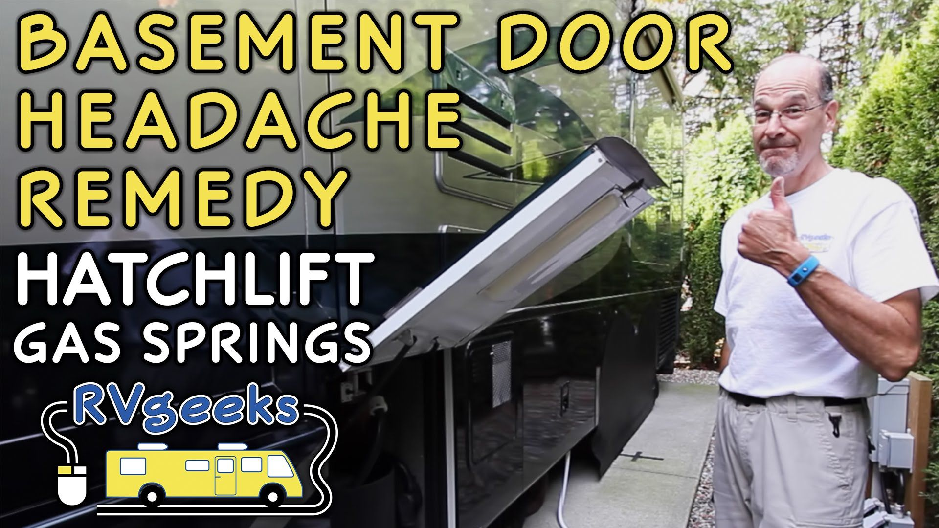 replacing or retrofitting your RV compartment door or bed gas struts