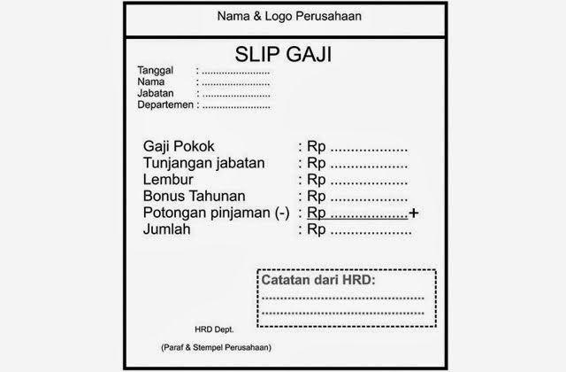Slip Gaji Pdf