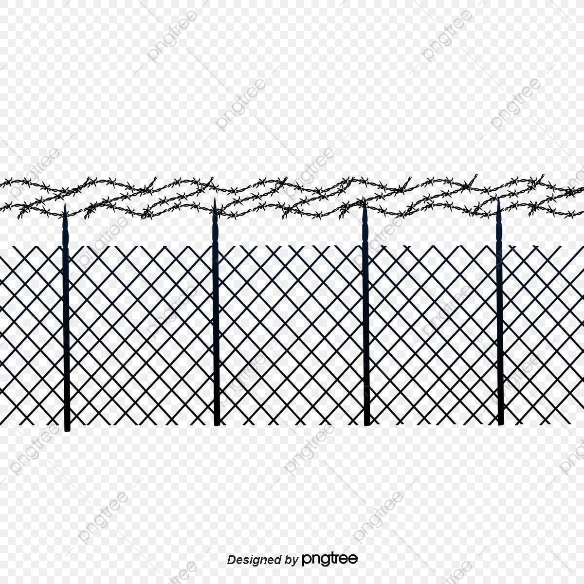 Download This Barbed Wire Fence Black Hand Painted Barbed Wire Transparent Png Or Vector File For Free Pngtree H Barbed Wire Fencing Wire Fence Barbed Wire