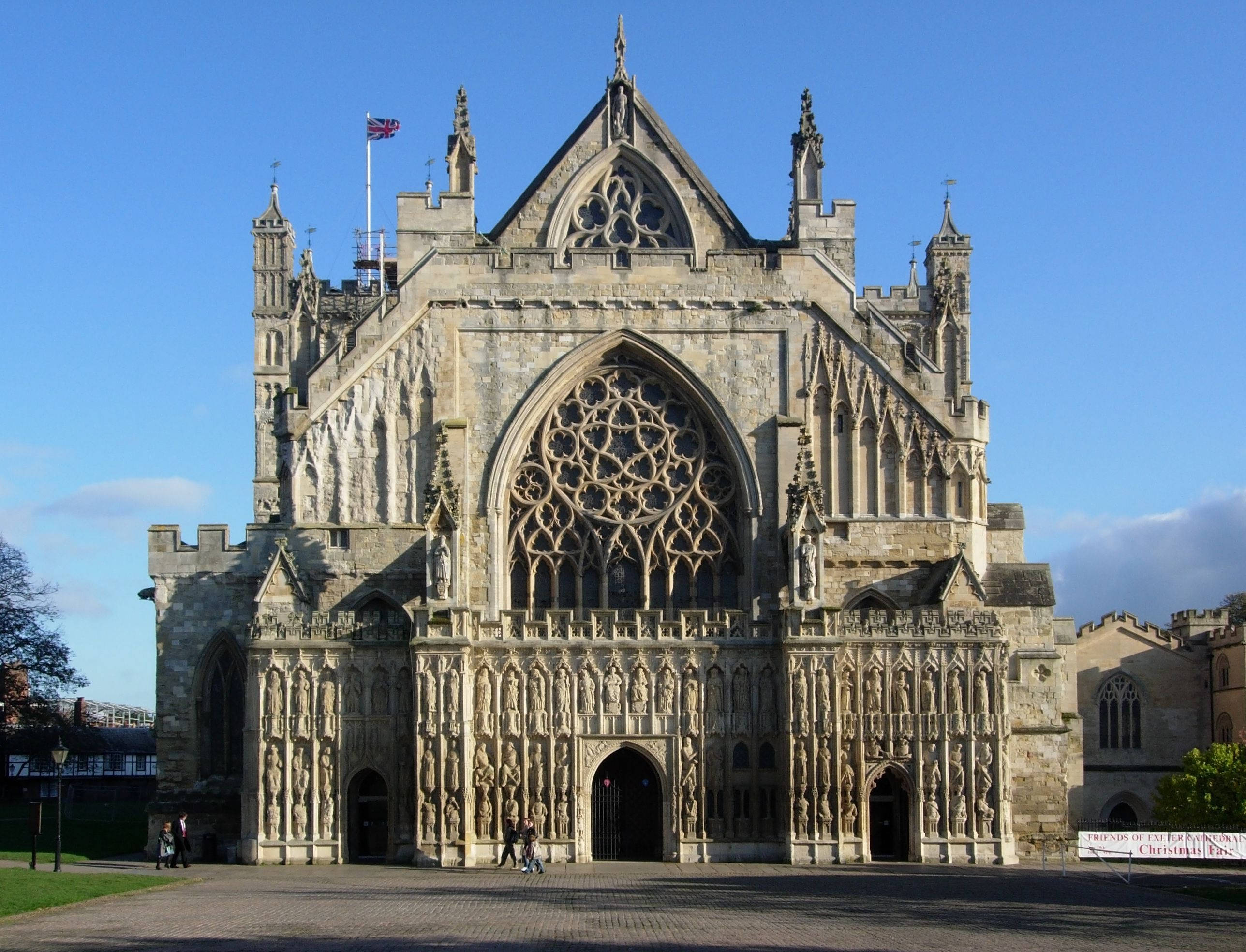 exeter cathedral, the cathedral church of saint peter at exeter, is