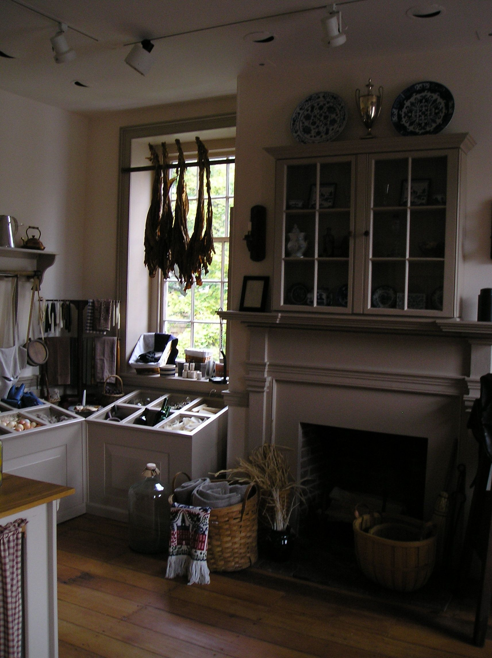Interior of Wilson-Warner House | House, Home, Home decor