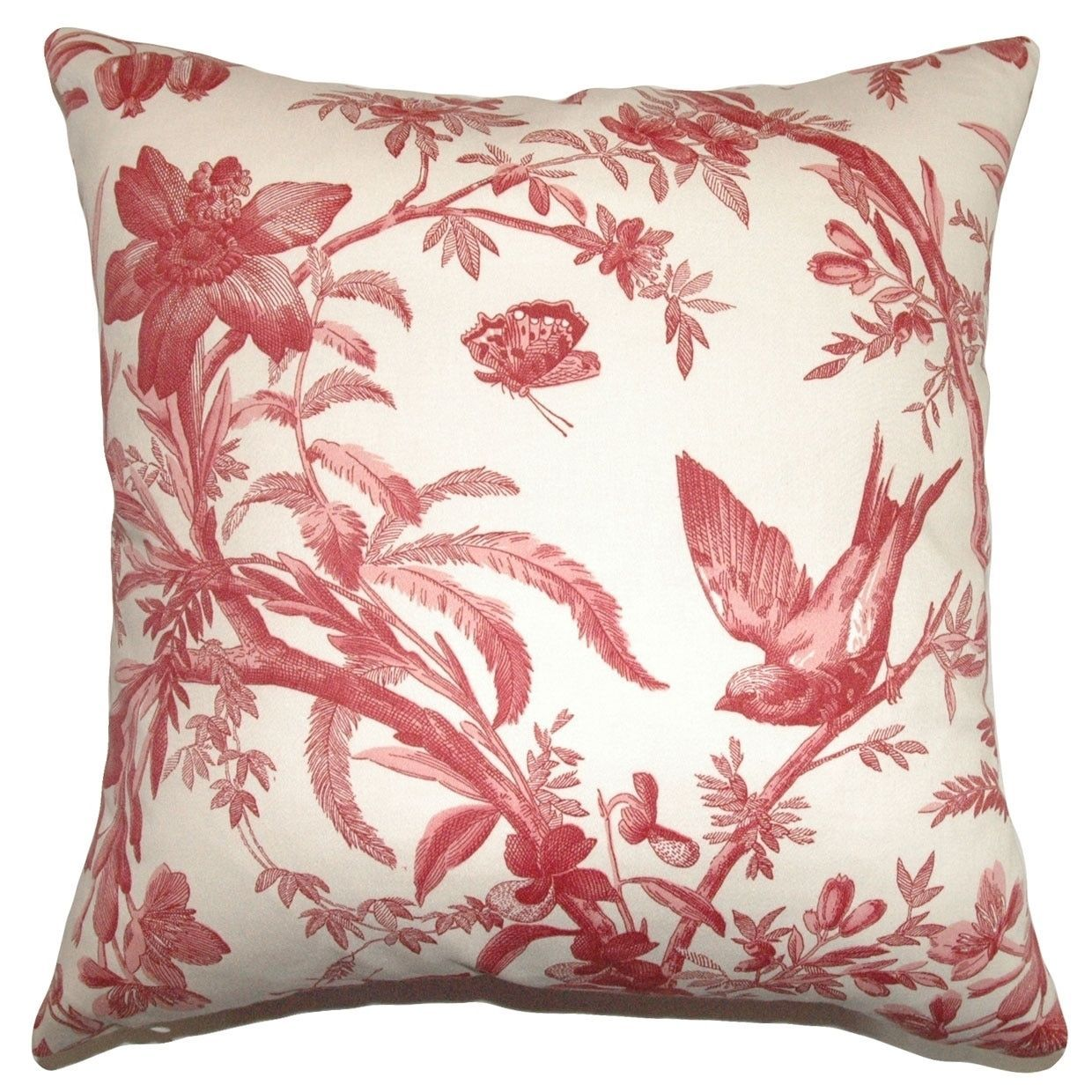Xandrea Claret Down Filled 18-inch Throw Pillow