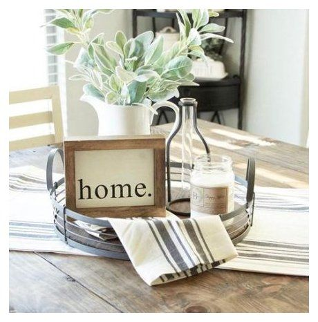 kitchen table decor centerpiece modern -   19 farmhouse decorations for kitchen table ideas
