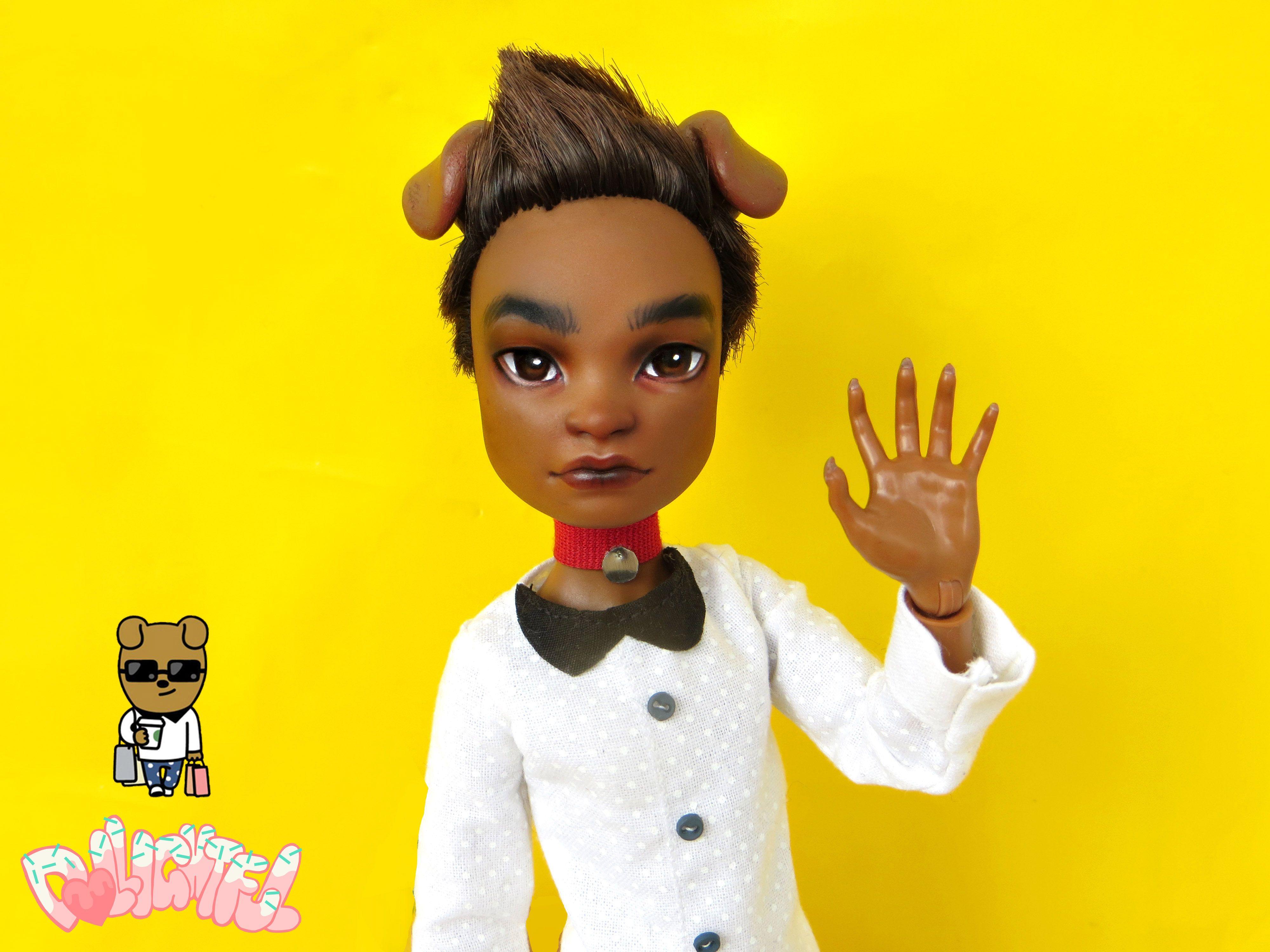 kakaotalk Kakao Friends Frodo Ooak custom doll 카카오 프렌즈 프로도 인형 by Dollightful