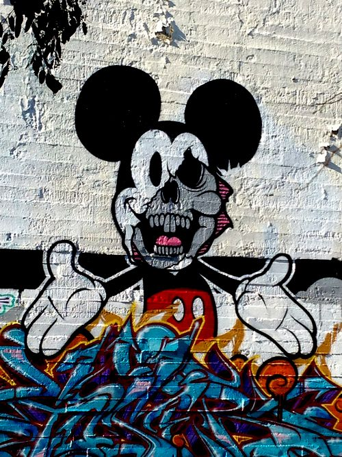 Mickey gone bad.