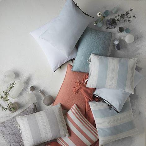 Summer Stripes: bedding from West Elm
