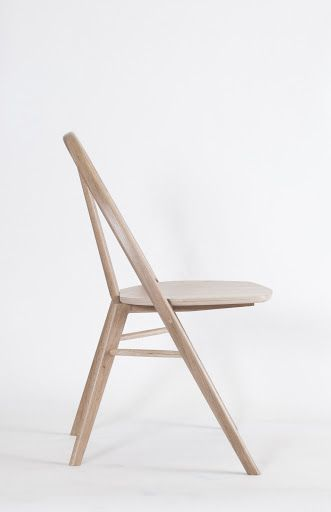Bow is a minimal chair created by Chicago-based designer Taylor McKenzie-Veal. (1)