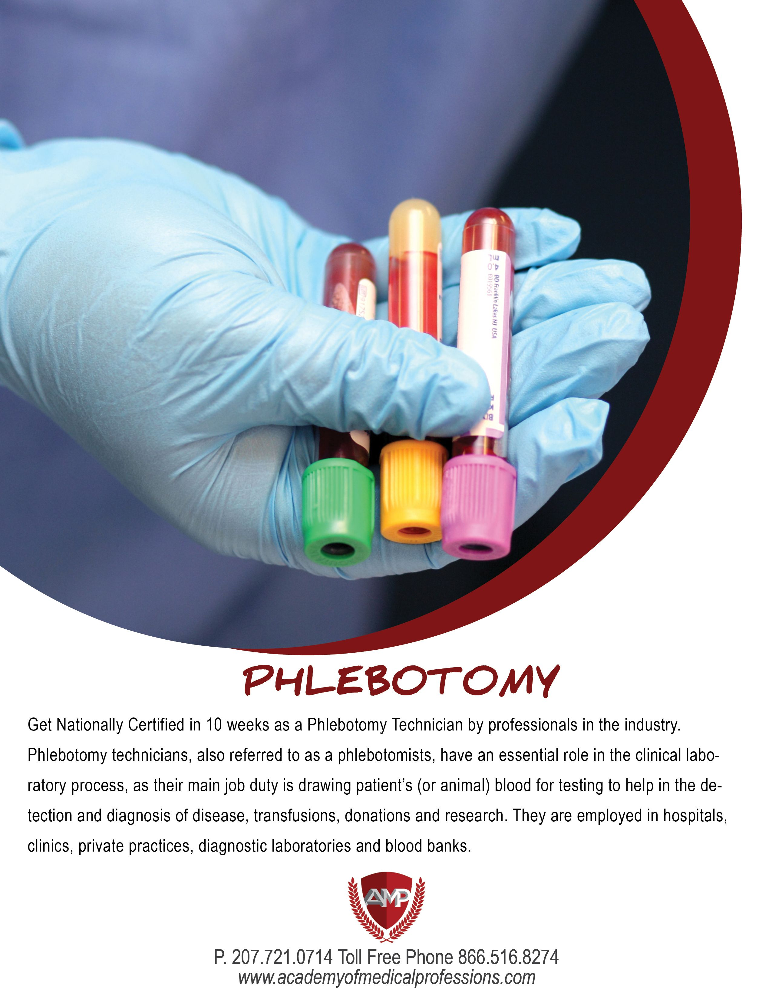 Become Nationally Certified In 10 Weeks As A Phlebotomy Technician