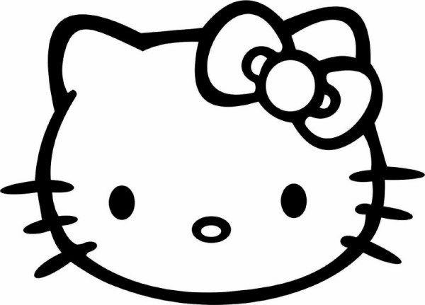 Hello Kitty Car Window Sticker Only 1 73 Hello Kitty Tattoos Hello Kitty Coloring Kitty Coloring