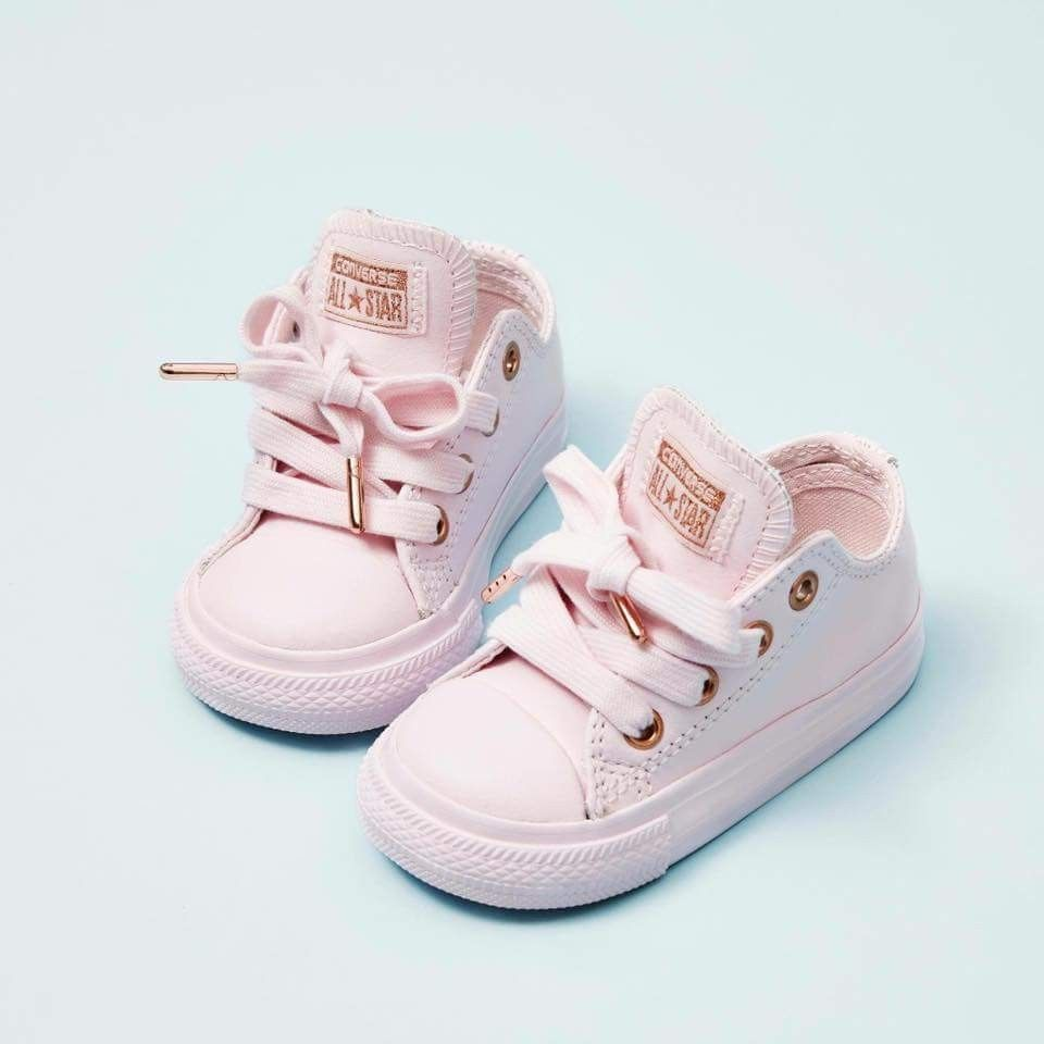 091c933a49c Cutest pink baby girl all star sneakers. Kids Clothes Stores Near Me. Cute  pink shoes four little one 🌺