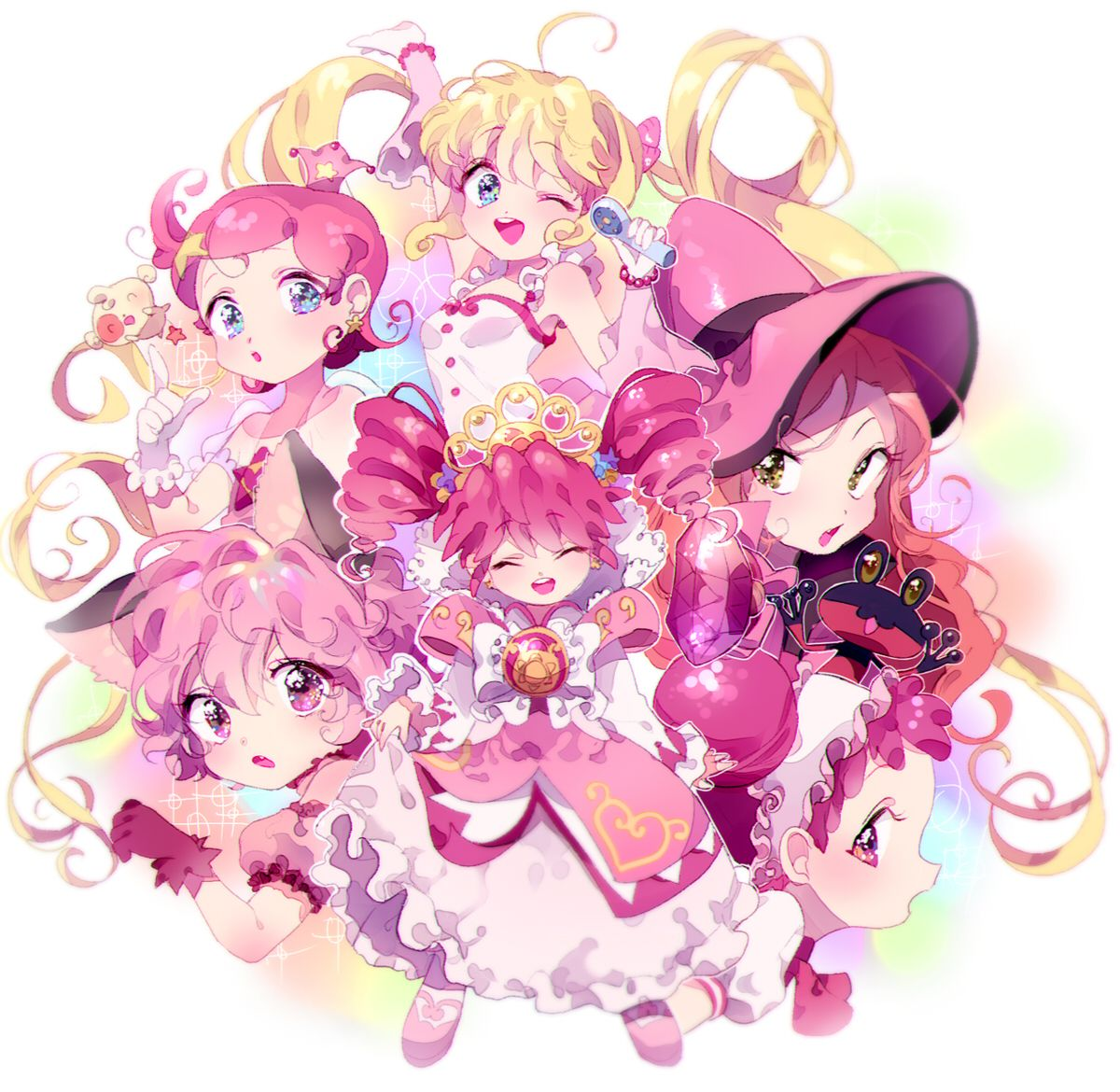 Inhye, Princess Comet, Mermaid Melody Pichi Pichi Pitch