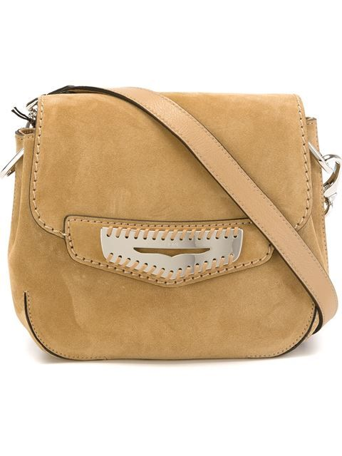 0969069cb69 TOD'S 'Mask' Cross Body Bag. #tods #bags #shoulder bags #suede ...