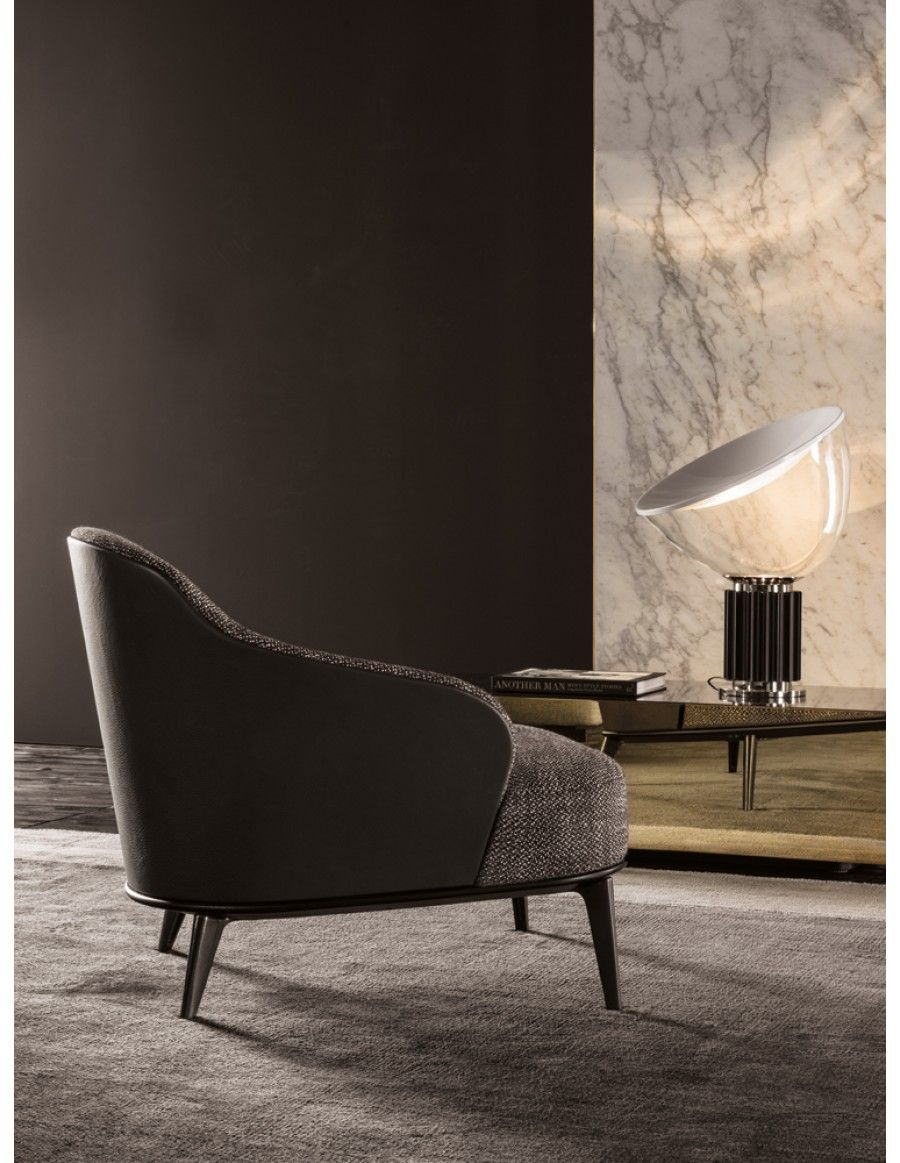 Minotti Leslie | Van der Donk interieur | Sofa chair | Pinterest ...