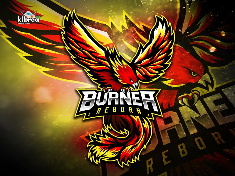 phoenix in 2020 Logo design art, Phoenix design, Game logo