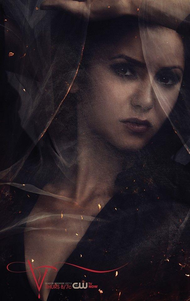 Katherine Tvd Season 5 Vampire Diaries Poster Pinterest