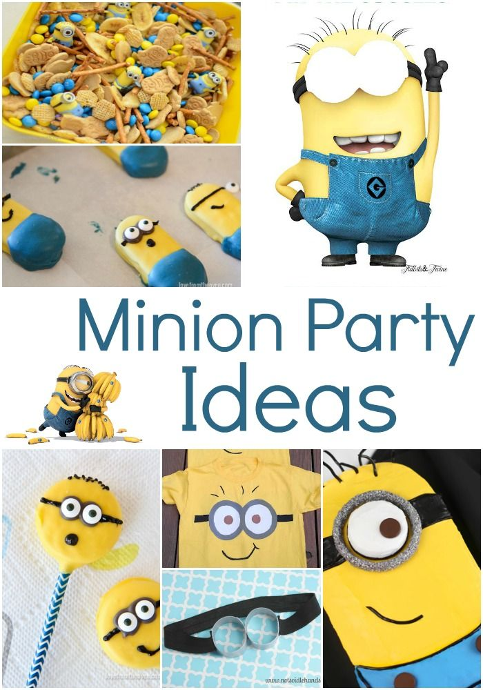 Minion Birthday Party Ideas bday cake invitation TheItMom