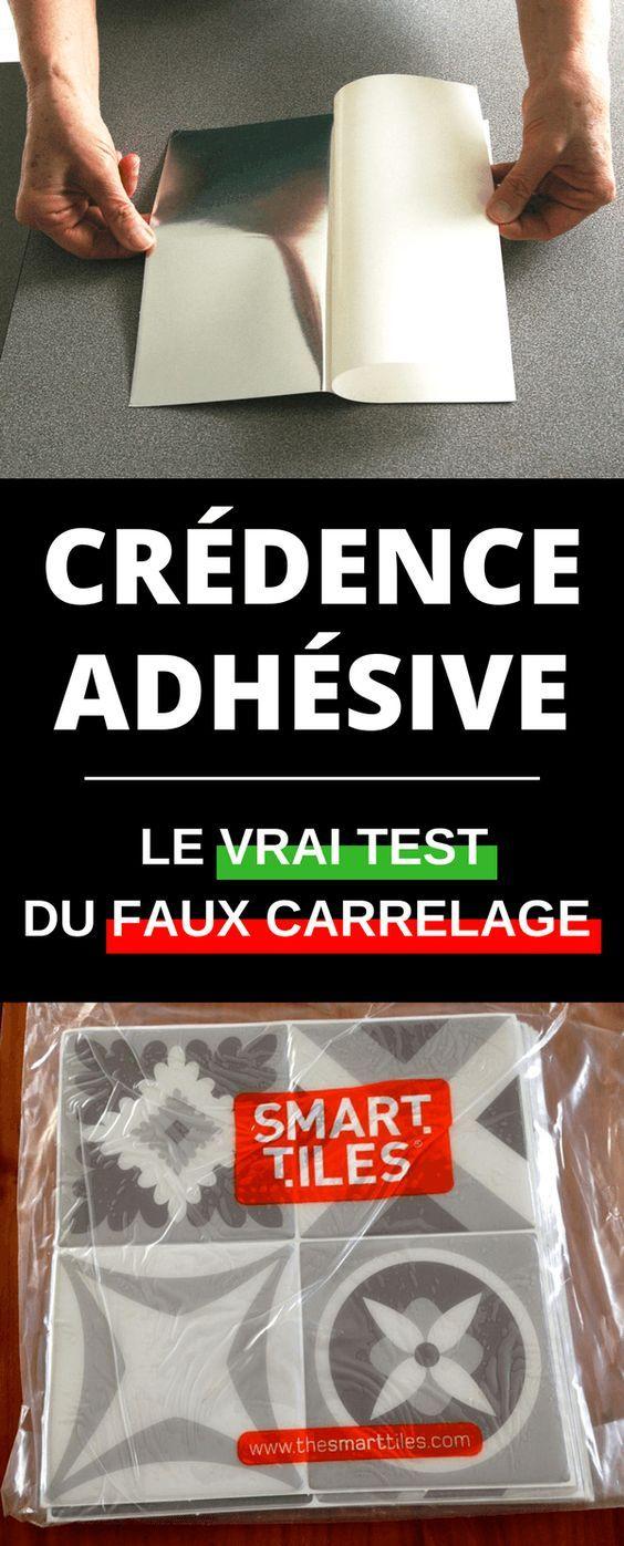 Accessoire Salle De Bain ~ Faux Carrelage Vrai Test Notre Avis Sur La Cr Dence Adh Sive