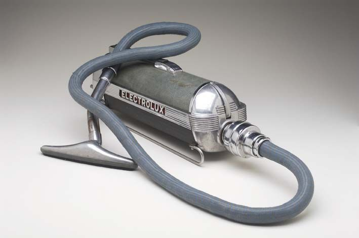 electrolux attachments. electrolux model xxx vacuum cleaner and 5 attachments by lurelle guild, 1937 t