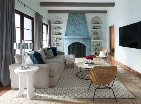 Living Room Design By Celebrity Interior Designer Ryan White