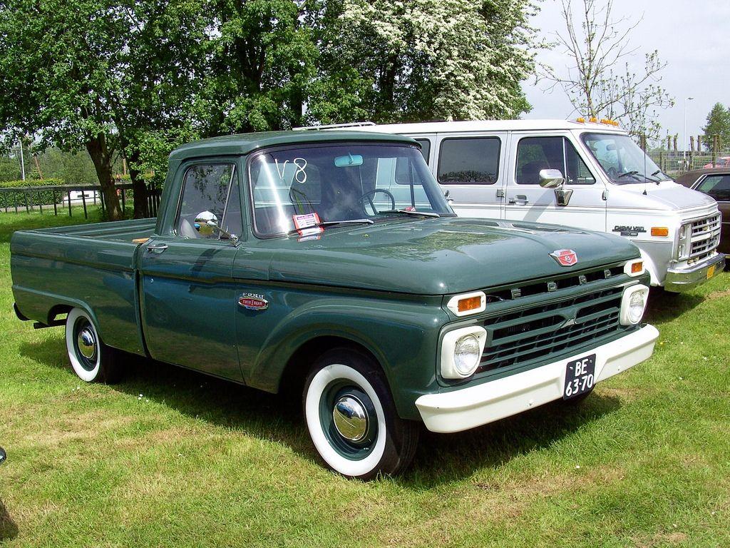 1966 Ford F100 pickup truck   Ford, Ford trucks and Classic trucks