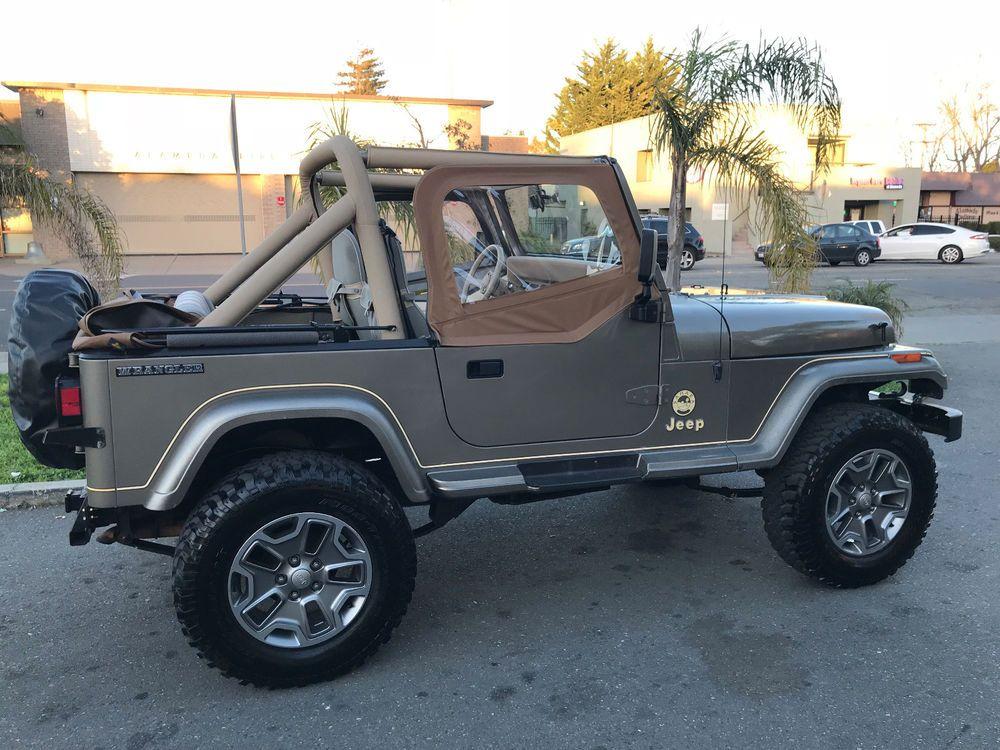 Ebay 1989 Jeep Wrangler Sahara 1989 Jeep Wrangler Jeep Jeeplife